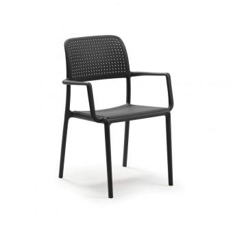 Bora Antracite Chair With...