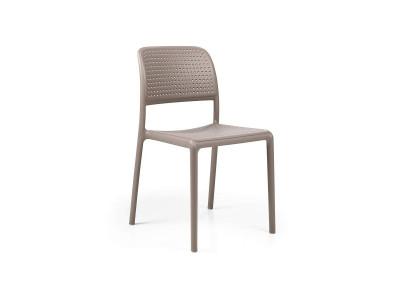 Bora Bistrot Tortora Chair No Armrests