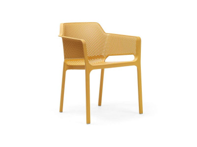 Net Senape Chair With Armrests