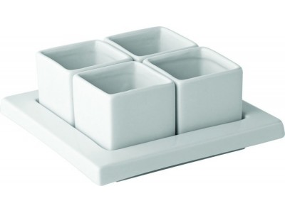 "Titan Gourmet Square Tray 6"" (15cm)"